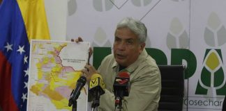 Wilmar Castro Soteldo, Ministro de Agricultura y Tierras