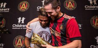 Josef Martínez y Ender Inciarte, entrega de la Bota de Oro de la MLS