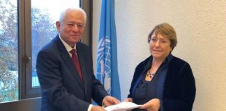 Alta Comisionada de DDHH de la ONU, Michelle Bachelet