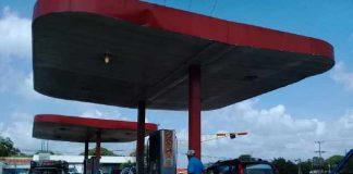 Suspenden venta de gasolina