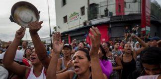 Protesta por comida