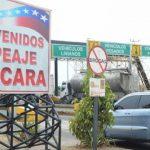 Peajes en Carabobo