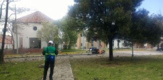 Carro bomba en Bogotá