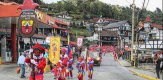 Carnavales en la Colonia Tovar