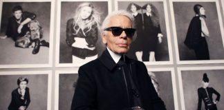 El diseñador Karl Lagerfeld