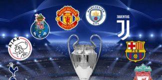 Clasificados a cuartos de final de la UEFA Champions League