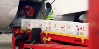 Cruz Roja, ayuda humanitaria.