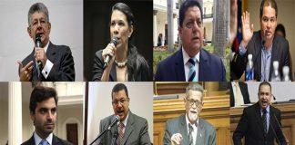 Diputados de la Asamblea Nacional señalados por el TSJ