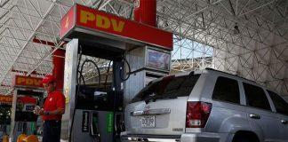 Estación de gasolina, Pdvsa.
