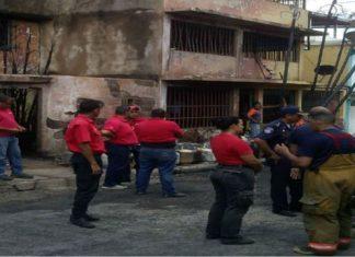 Explosión en el estado Aragua incendió tres casas.