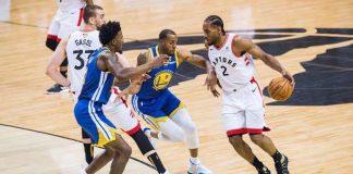 Raptors vs Warriors, Finales de la NBA