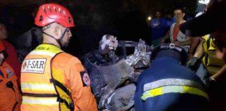 Accidente de tránsito en la autopista Valencia-Puerto Cabello