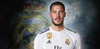 Eden Hazrd, nuevo jugador del Real Madrid