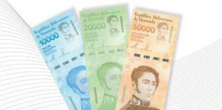 Nuevos billetes anunciados por el BCV