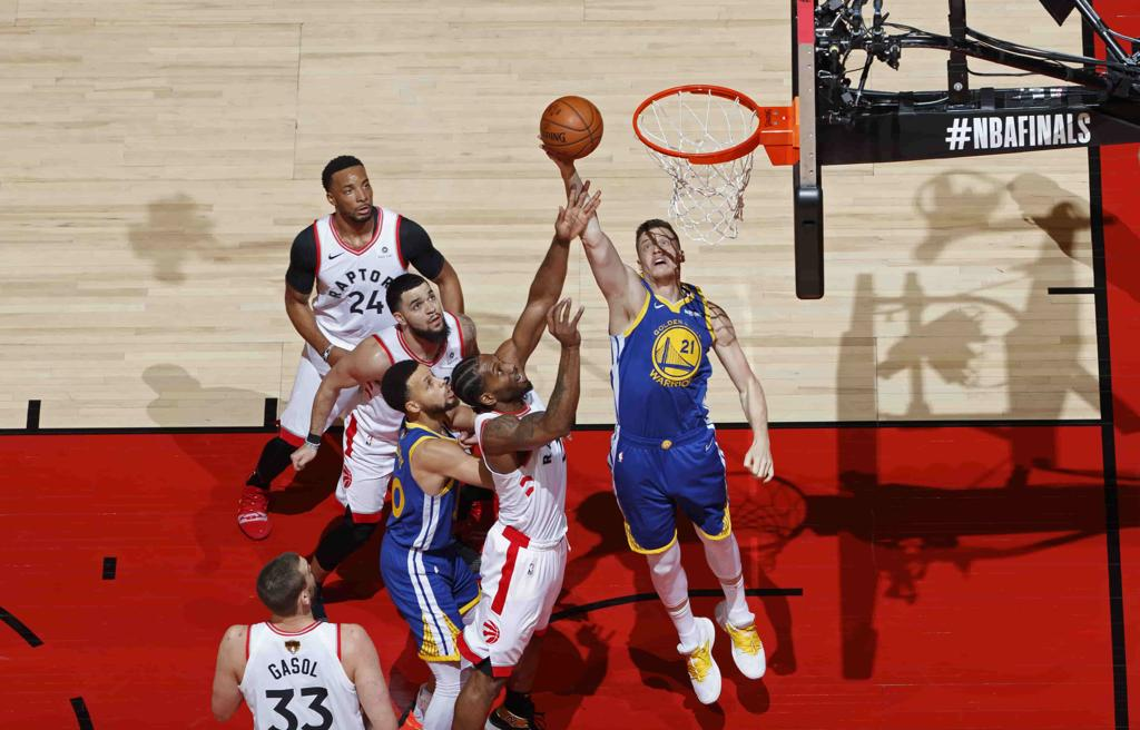 Raptor vs Warriors, finales de la NBA.