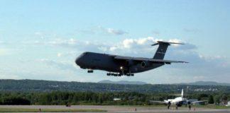 Avión de transporte más gran de Estados Unidos