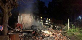 Incendio en Argentina