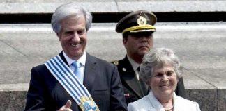 Presidente de Uruguay y su esposa