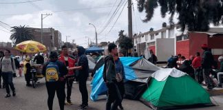 Venezolanos en Tacna, Perú