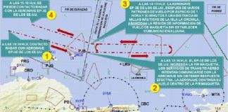 Incursión de avión estadounidense en espacio aéreo venezolano.