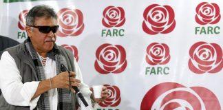 El exlíder de las FARC, Jesús Santrich, en un imagen de archivo.