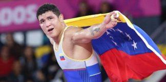 El atleta venezolano, Luis Avendaño conquistó los 87kg en Lima 2019.