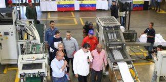 Maduro, Aristóbulo y Héctor Rodríguez.