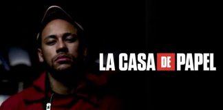 Neymar participa en La Casa de Papel 3
