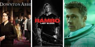 """""""Downton Abbey"""", """"Rambo"""" y """"Ad Astra""""."""