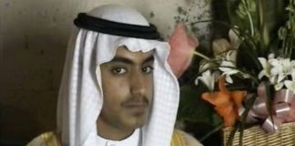 Hamza Bin Laden, hijo de Osama Bin Laden.