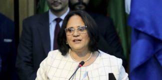 La ministra brasileña de la Mujer, Familia y Derechos Humanos, Damares Alves.