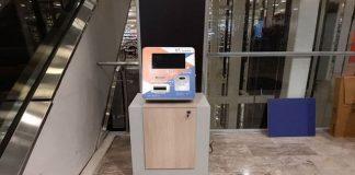 Cajero automático de Bitcoin.