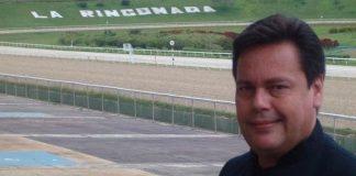 José Gregorio Guerrero Bogarín, comentarista hípico.