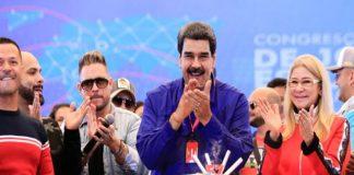 Cumpleaños de Maduro