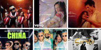 Las canciones más escuchadas en YouTube este 2019