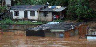 Lluvias en Brasil