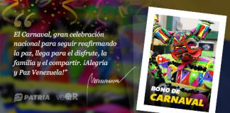 Bono de Carnaval