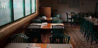 restaurant. corona virus