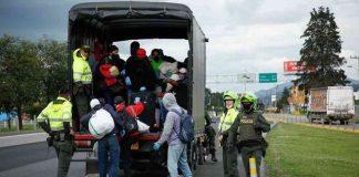 ordenan contagiar a migrantes