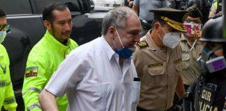 Detenido expresidente de Ecuador Abdalá Bucaram.