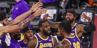 LeBron James y sus Lakers