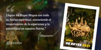 Entrega de Bono de Reyes 2021