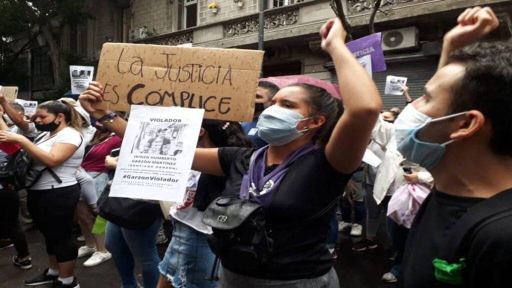 Protestas en Argentina por violación de una venezolana