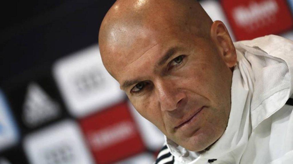 Zidane dio positivo por covid-19
