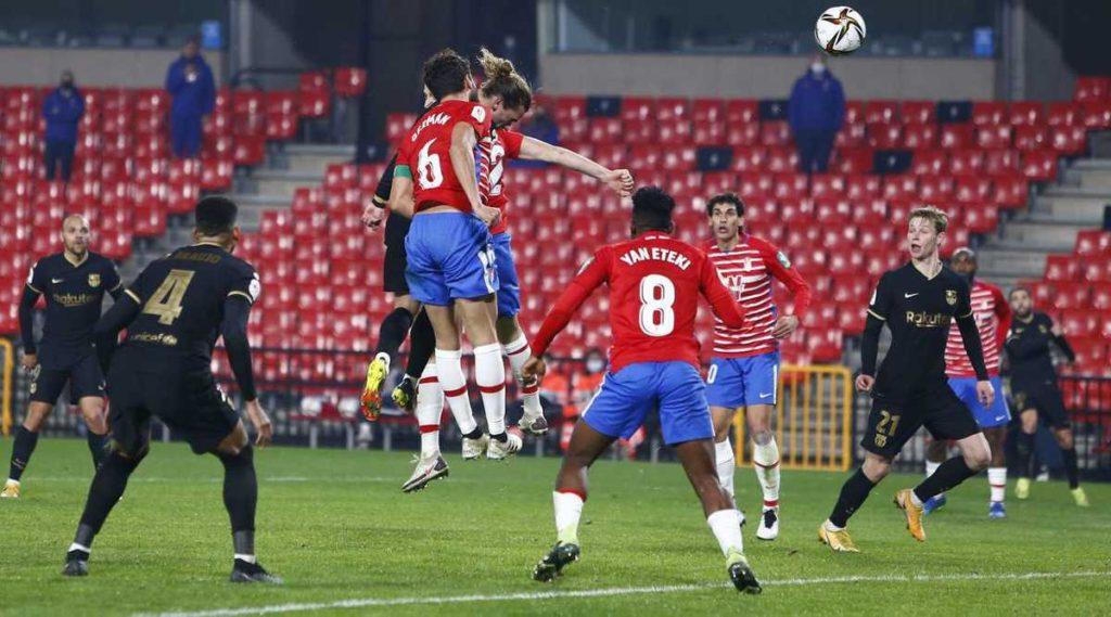 Barcelona vs Granada, Copa del Rey.