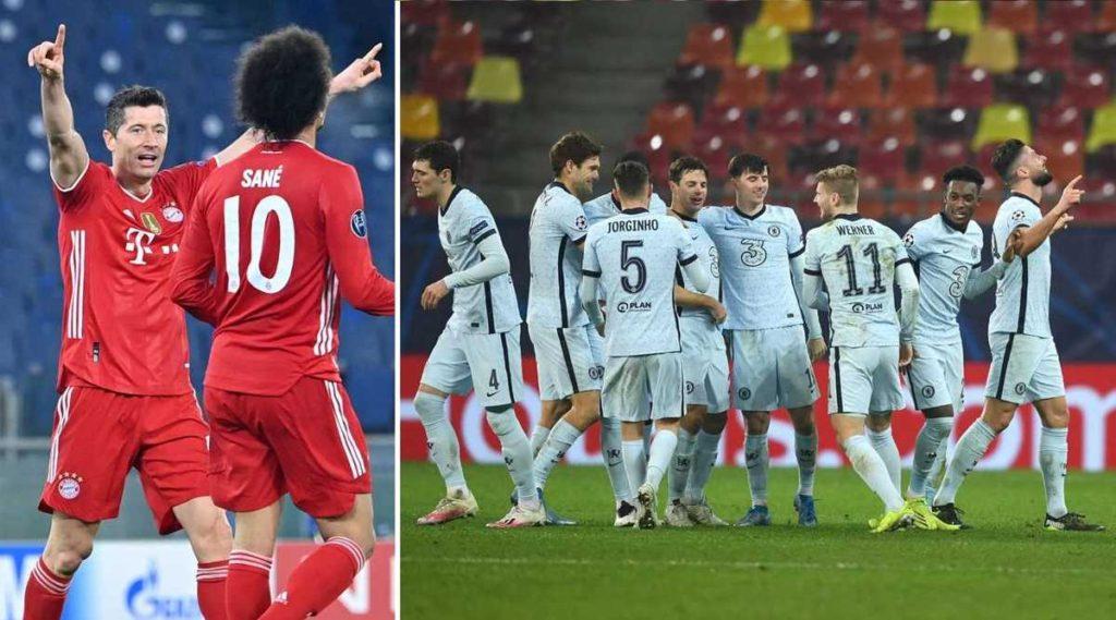 Bayern Múnich y Chelsea