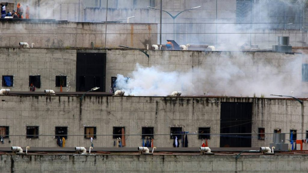 Enfrentamientos en cárceles de Ecuador