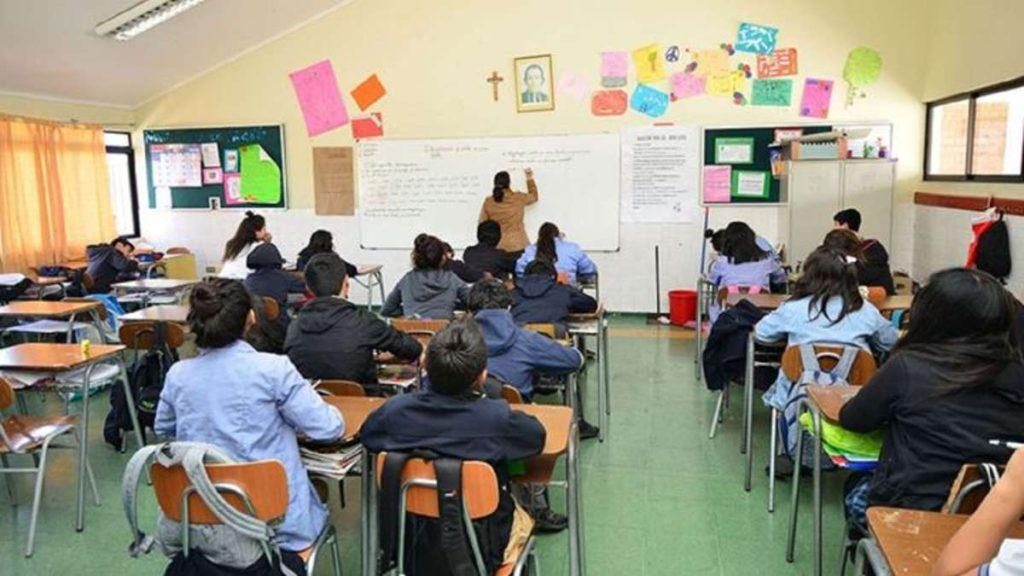 Inicio del año escolar en Chile