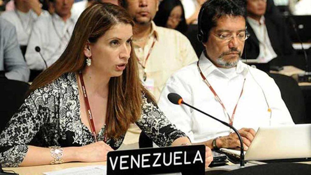 UE declara persona non grata a jefa de misión de Venezuela en Bruselas