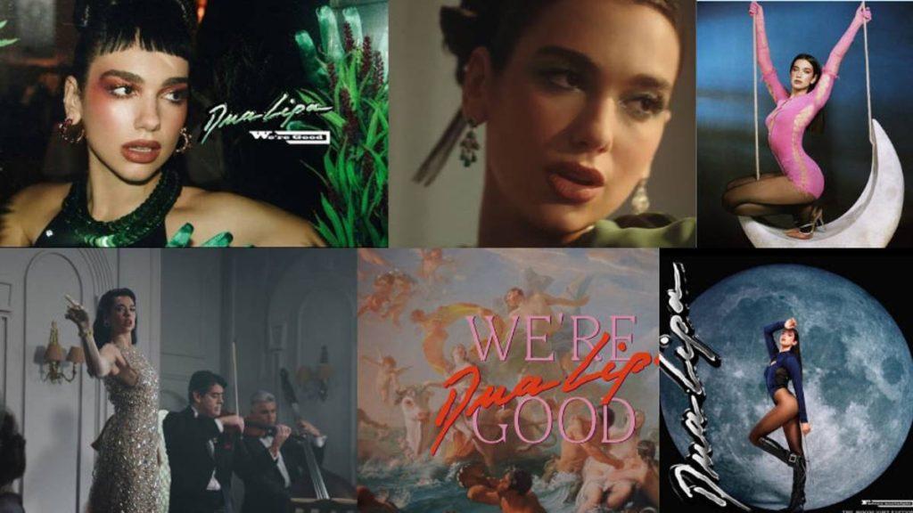 Dua Lipa estrenó We're Good